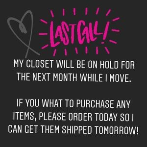 LAST CALL!! Get your orders in today 💛🥰👗👠
